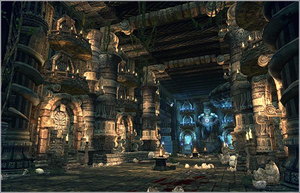 Зона охоты Temple of Dagon