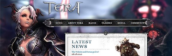 Новый трейлер и новый сайт TERA