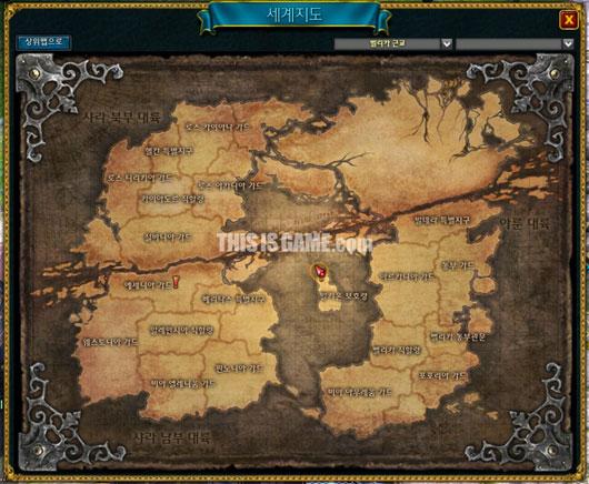 Карта мира с ЗБТ 3