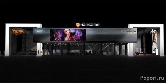 Фото и видео первого дня NHN на G-star 2010