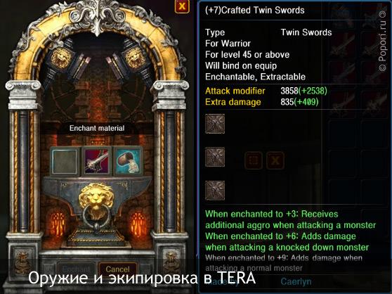 Система предметов в TERA: новый взгляд на экипировку