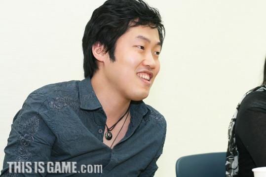 Начальник группы моделирования персонажей Gu Seok.