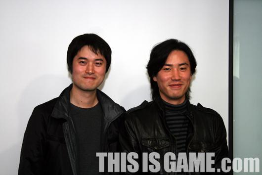 Помощник продюсера Nak-hyeon Kim (слева) ихудожник Yu-seung Yi