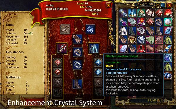 Опросы сообщества о системе улучшения кристаллами