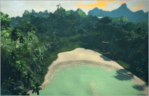 Зона охоты Misty Island