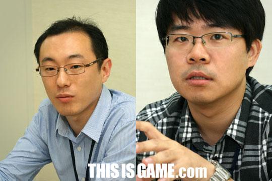 An Dong Gyun и Kim Jong Min