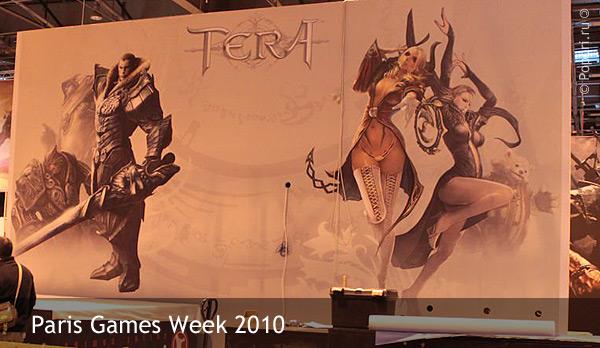 Фото подготовки павильона на выставке Paris Games Week 2010