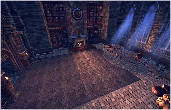 Зона охоты Castle of Witches (Замок с ведьмами)