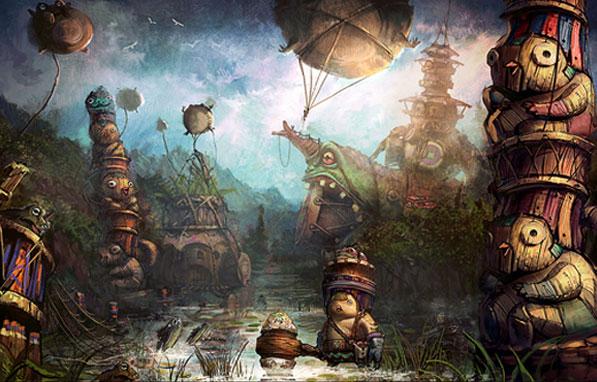 Зона охоты Huki's Swamp (Болото Хуков)