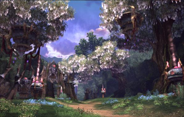 Зона охоты Forgotten Forest (Забытый лес)
