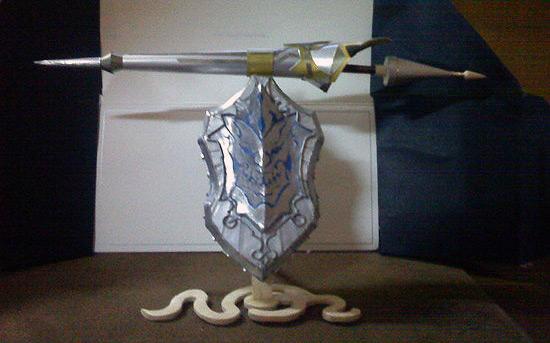 Фигурка оружия Lancer в TERA