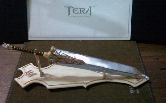 Фигурка оружия Slayer в TERA