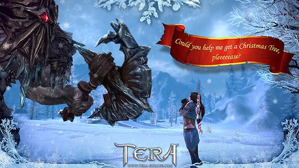 Дух рождества с TERA